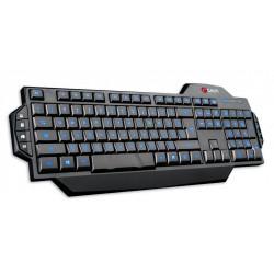 C-TECH CZ/SK KORE, herní, modré podsvícení, USB