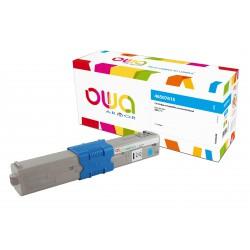 OWA Armor toner pro OKI 46507615,modrá/cyan