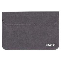 """iGET iC10 - univerzální pouzdro do 10.1"""" pro tablety, s magnetickým uzavíráním - šedočerná"""