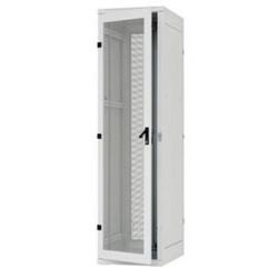 Stojanový rozvaděč 15U (š)800x(h)1000 , skleněné dveře