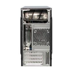 EUROCASE MC X201 EVO ATX black černý s USB3, bez zdroje, microtower mATX (USB3+Audio)