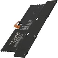 2-POWER Baterie 7.68V 4772mAh pro HP Spectre 13-v000nc