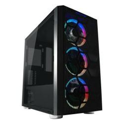 LC-POWER case Gaming 708MB Beyond_X Midi Tower, window, černá