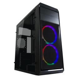 LC-POWER case Gaming 999B Phantasm Midi Tower, window, černá