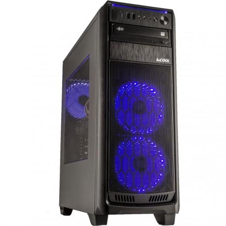 CORPA GAMER  RYZEN 5 2600 3.9GHZ 6 jader 12 vláken 16GB 1TB GTX 1660 Super W10