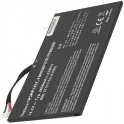 2-POWER Baterie 14,8V 2850mAh pro Fujitsu LifeBook UH572
