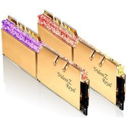 G.SKILL 16GB 2x8GB Trident Z Royal Gold DDR4 3600MHz CL18 1.35V
