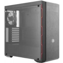 COOLER MASTER PC skříň MASTERBOX MB600L, WO/ODD, červená