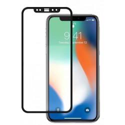 5D tvrzené sklo iPhone 12 PRO MAX Black (FULL GLUE)
