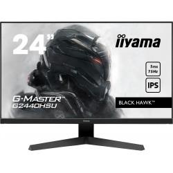 """24"""" iiyama G-Master G2440HSU-B1: IPS, FullHD@75Hz, 1ms, HDMI, DP, USB, FreeSync, černý"""