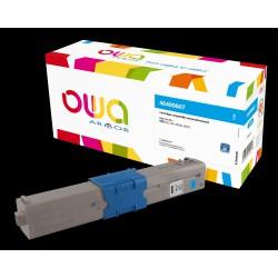 OWA Armor toner pro OKI 46490607, modrá/cyan