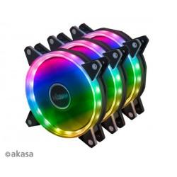 přídavný ventilátor Akasa Vegas AR7 LED 12 cm kit