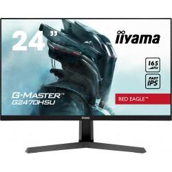 """24"""" iiyama G-Master G2470HSU-B1: IPS, FullHD@165Hz, 0.8ms, HDMI, DP, USB, FreeSync, černý"""