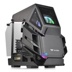 THERMALTAKE case AH T200 černý s oknem, 2x TG (mATX case bez zdroje)