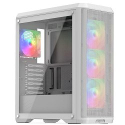 SILENTIUMPC case Ventum VT4V EVO TG ARGB Midi Tower, window, bílá