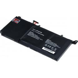 Baterie T6 power Asus VivoBook S551L, R551L, K551L, V551L serie, 4400mAh, 49Wh, Li-pol, 3cell