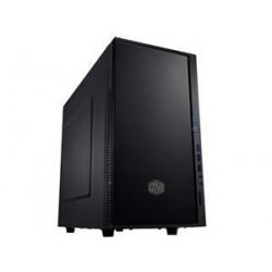 case CoolerMaster minitower CenturionSilencio352 Matte,mATX,black,USB3.0, bez zdroje,odhlučněný