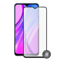 Screenshield XIAOMI Redmi 9 (full COVER black) Tempered Glass protection
