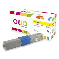 OWA Armor toner pro OKI 46490401,žlutá/yellow
