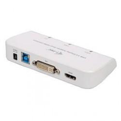 i-tec USB3.0 DVI/VGA/HDMI Dual Display Adapter