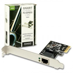 AXAGON PCI-Express Gigabit Ethernet Realtek + LP