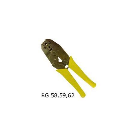 Konektorovací kleště RG58/59 račna
