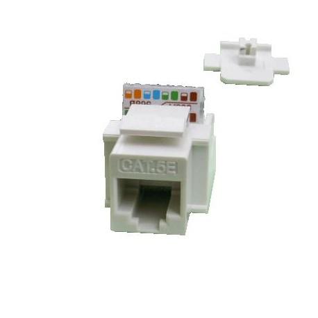 DATACOM Keystone UTP Cat5e samozářezový bílý