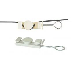 Kotva pro FTTX DROP kabelu samonosným způsobem