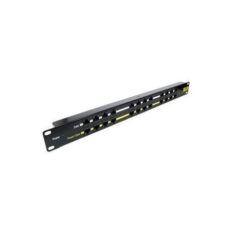 POE-PAN12, 12-portový pasivní POE panel