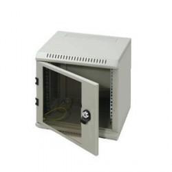 "10"" rack jednodílný 4U/260 TRITON šedý dveře sklo"