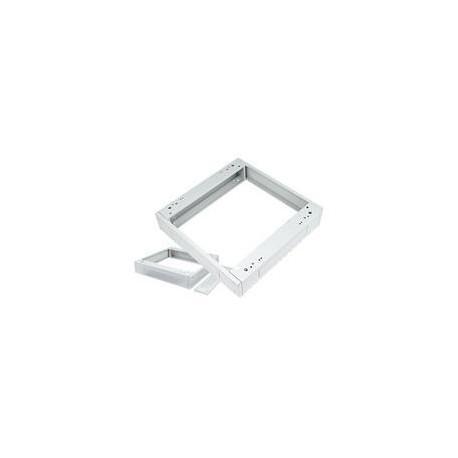 Podstavec pod rack, 600x600, s filtrem šedý