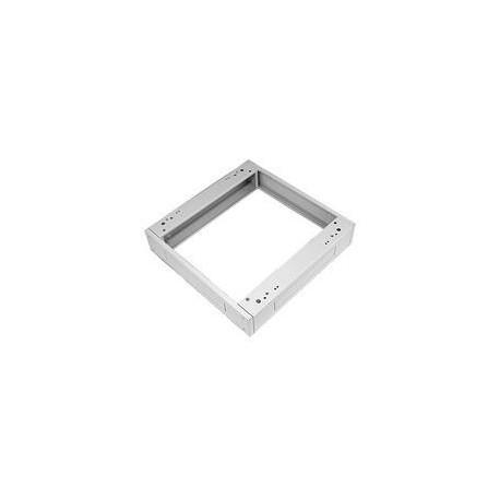Podstavec pod rack, 800x800, s filtrem šedý