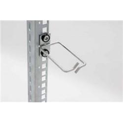 Vyvazovací háček 80x80 D1 kov levý fix,čelní gate