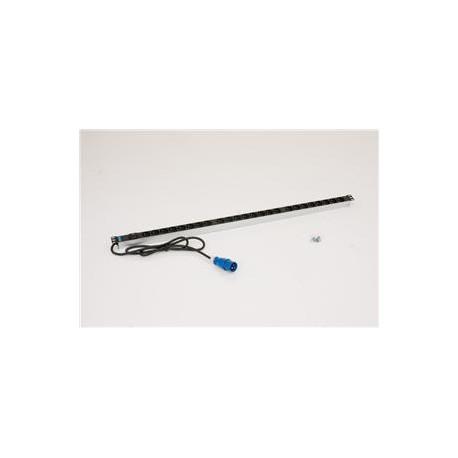 24xCZ zásuvka,3x2.5mm 2m kabel,16A IEC60309