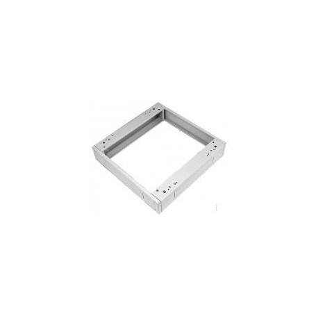 Podstavec pod rack, 600x800, s filtrem šedý