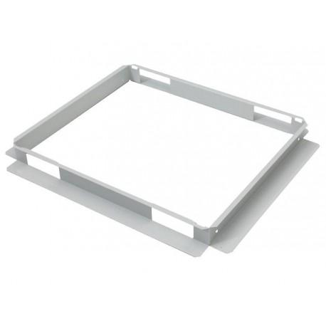 Spodní montážní rám pro ventilační jednotku šedý