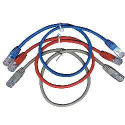 GEMBIRD Eth Patch kabel cat5e UTP 3m - modrý