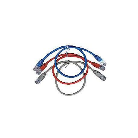 GEMBIRD Eth Patch kabel cat5e UTP 0,5m - červený