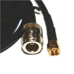 Pigtail N/F-RSMA, 30cm, do 6GHz