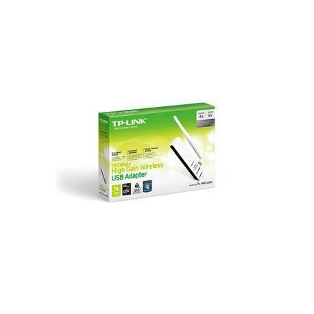 TP-Link TL-WN722N 150Mb High Gain Wifi USB 2.0 Adapter