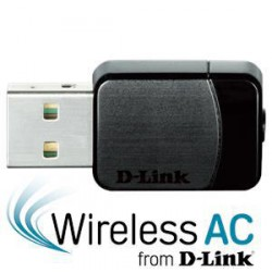 D-Link DWA-171 WiFi AC DualBand USB Micro Adapter