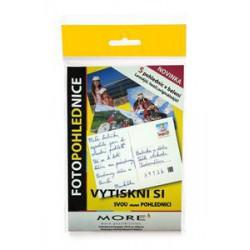 ARMOR MORE Fotopapír FOTOPOHLEDNICE 10x15 / glossy, 5 listů, photo 10x15cm