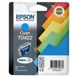 EPSON Ink ctrg cyan pro Stylus C82/CX5200/CX5400 T0422