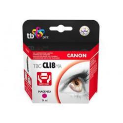 Ink. kazeta TB kompat. s Canon CLI-8M 100% new