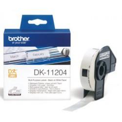 DK-11204 (papírové / univerzální štítek - 400 ks)