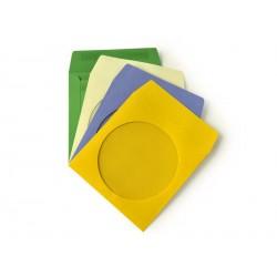 Papírová obálka pro CD/DVD s okénkem,barevné 100ks