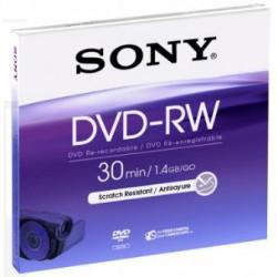 Média DVD-RW DMW-30 SONY pro DVD kamery, 8cm