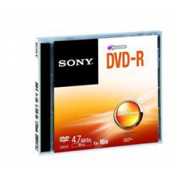 Média DVD-R SONY DMR-47  4.7GB  16x   1ks