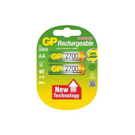 Nabíjecí baterie GP RECYKO AA (2700mAh)- 2ks