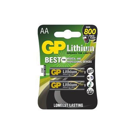 Lithiová Baterie GP AA - 2ks